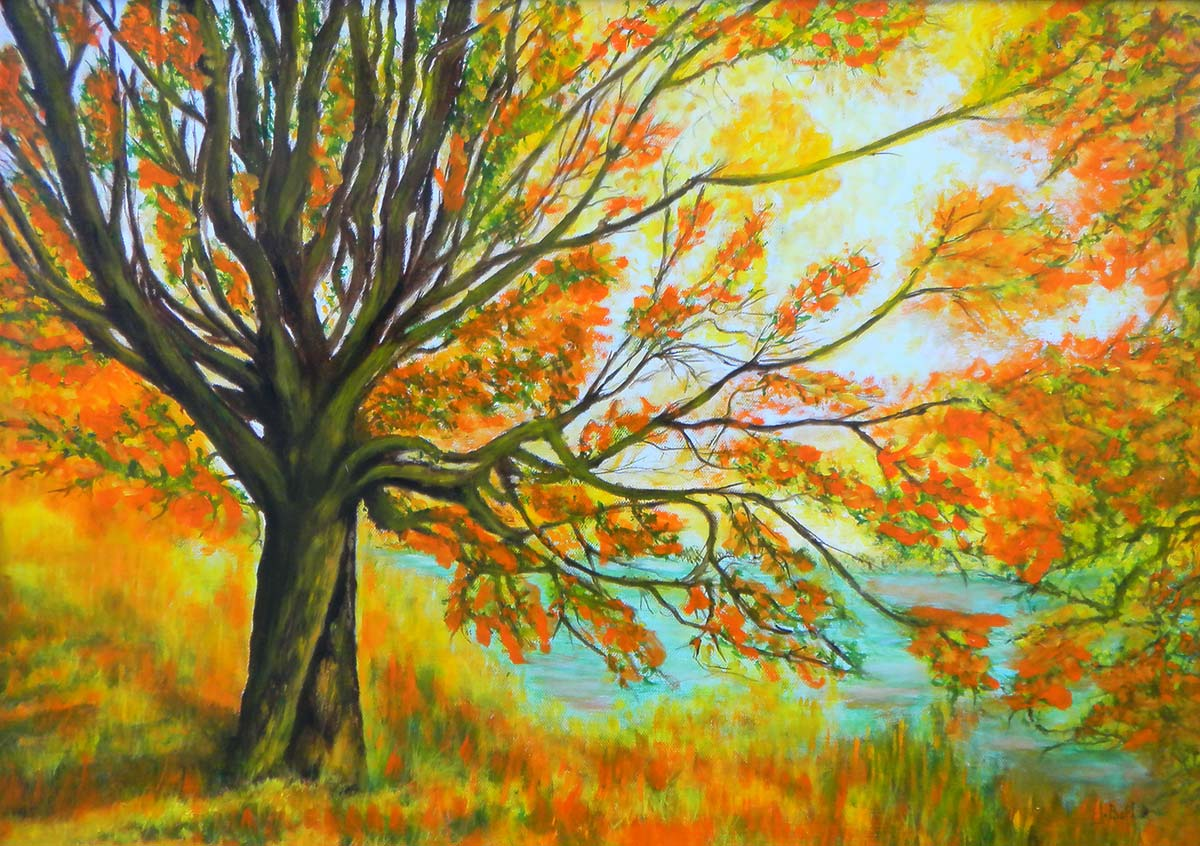 Autunno - Dipinto ad olio