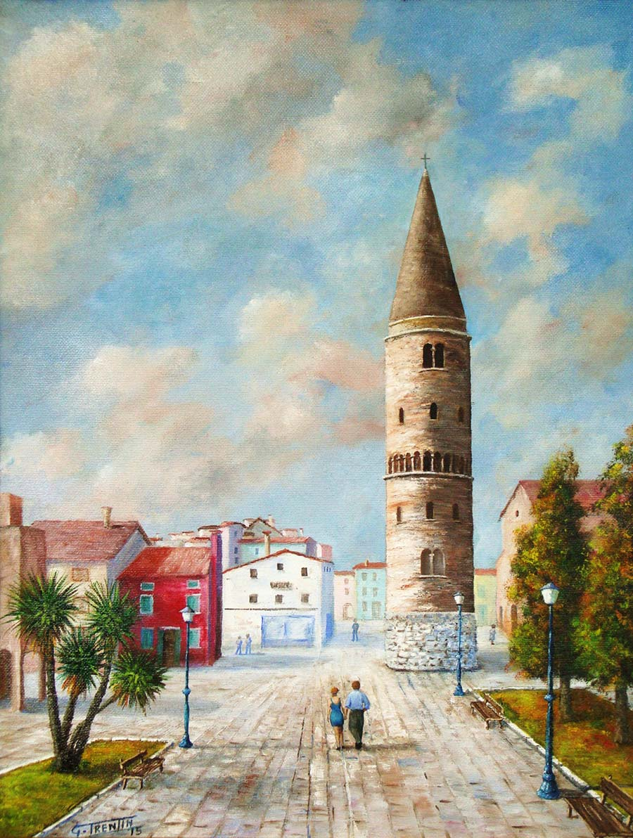 Caorle - Dipinto ad olio - cm 40 x 50 - Anno 2015