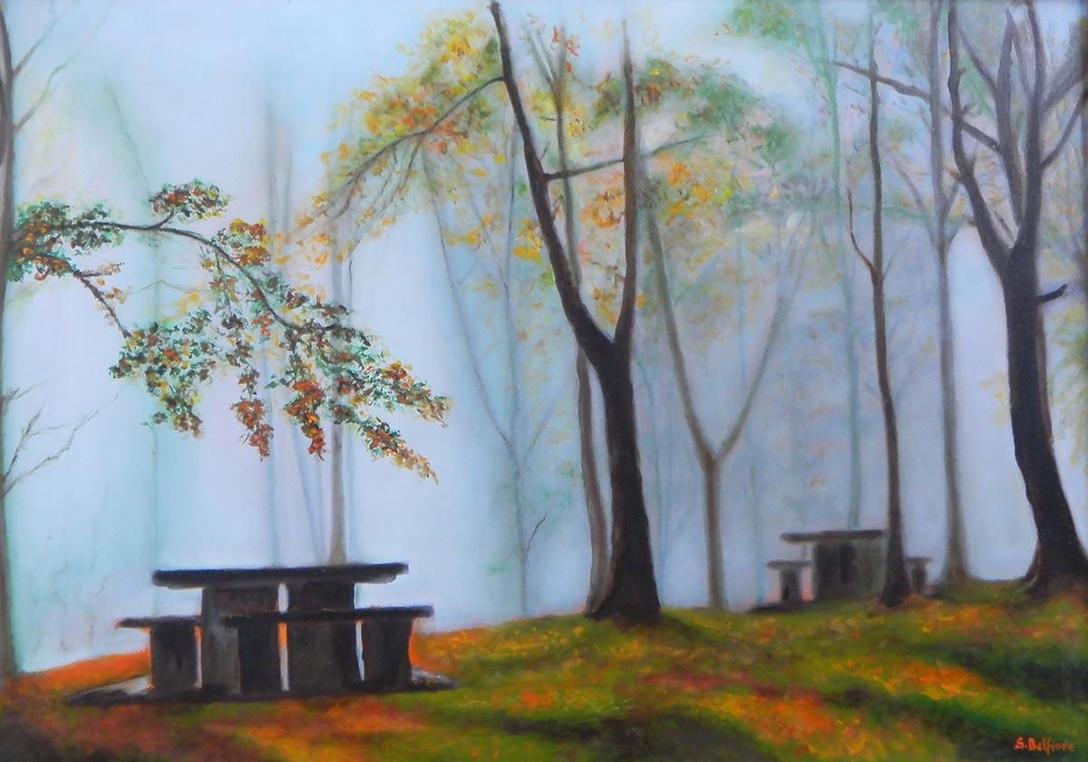 Solitudine - Dipinto ad olio